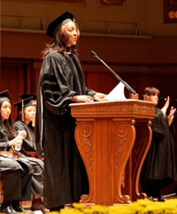 Michelle Bernard Ross Commencement 2012